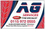 AG SERVICES LONG EATON NOTTINGHAM STOCK TYRES